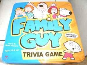 Family Guy Trivia Game - $5 (Redding, CA) for Sale in Redding ...