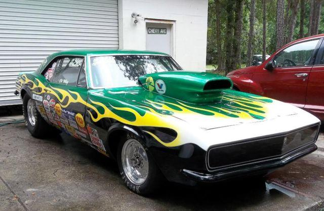 Famous 1967 Chevy Camaro Race Car Drag Nhra Ihra For Sale