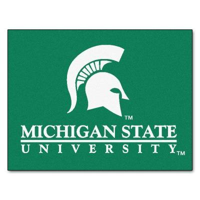 Fanmats Michigan State 34 in. x 45 in. All-Star Rugs