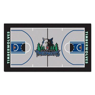 Fanmats Minnesota Timberwolves NBA Court Large