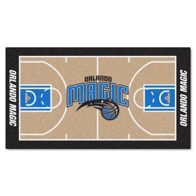 Fanmats Orlando Magic NBA Large Court 29.5 x 54 Runner