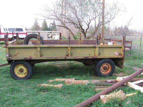 farm trailer made out of old military truck bed potosi for sale in abilene texas classified. Black Bedroom Furniture Sets. Home Design Ideas