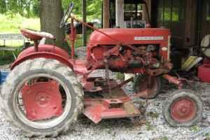 farmall cub tractor and mower - $1700 (seymour)