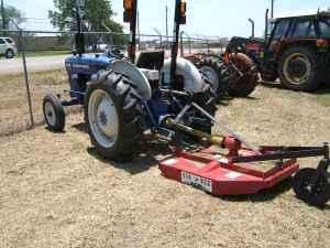 Ford Dealership Beaumont Tx >> FARMTRAC 435 WITH 4FT BIG BEE SHREDDER - (SWEENY, TX) for ...
