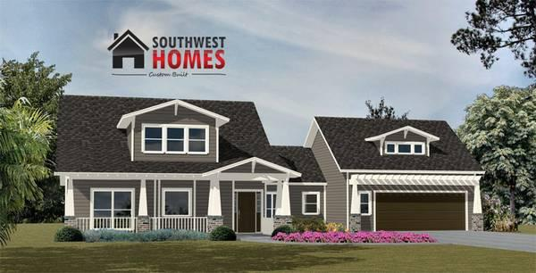 Featuring new floor plans southwest homes custom home for Custom floor plans for new homes