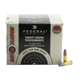 Federal Auto Match .22LR 40gr, High Velocity, Solid