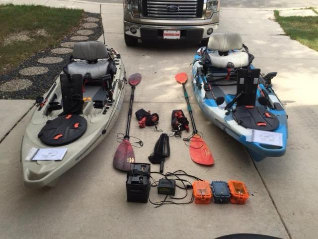 FeelFree Lure 10' Fishing Kayak For Sale for Sale in San