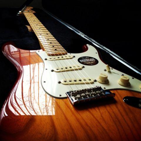 Fender American Standard Stratocaster Sienna Sunburst