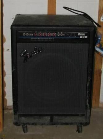 fender bass bxr 300c 300 watt amp pa speaker 15 for. Black Bedroom Furniture Sets. Home Design Ideas