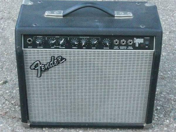 Champion Amp Iii Fender Champion 110 Amp Made