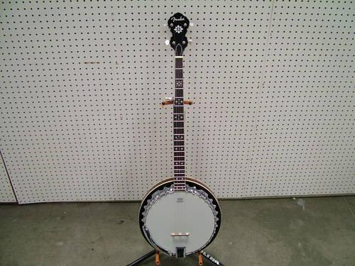 fender fb54 banjo manufacturer refurbished near mint condition for sale in sacramento. Black Bedroom Furniture Sets. Home Design Ideas