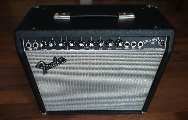 Fender Princeton 65 solid state guitar amplifier amp - $90