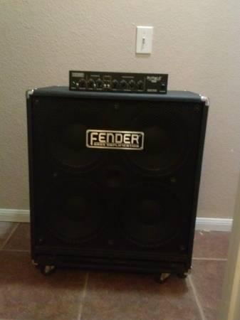 Fender Rumble 410 Cab and Head - for Sale in Thousand Palms ...