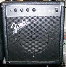 FENDER SMALL PRACTICE AMP l - $45 (NORFOLK)