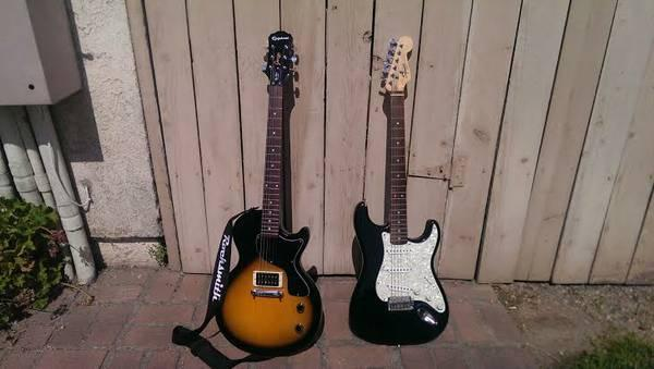 Fender Squire Se Special Stratocaster Epiphone Les Paul Junior
