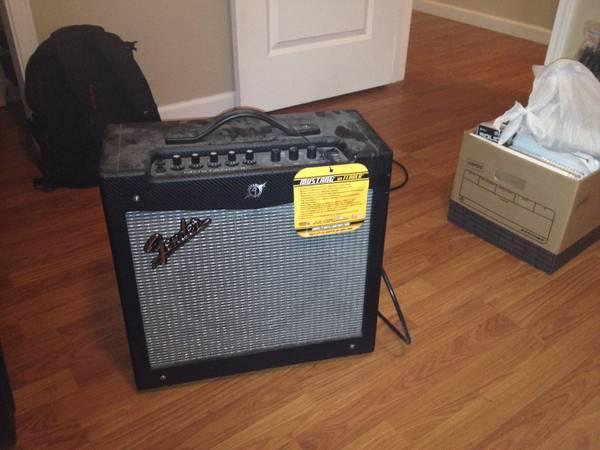 fender telecaster and fender mustang 2 amp - $1000