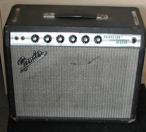 Fender Vintage Princeton Reverb Amp - $799