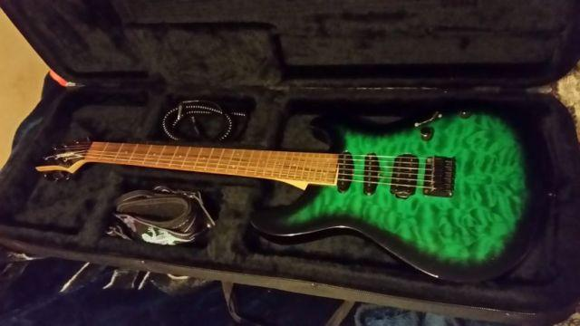 Fernandes Dragonfly X Electric Guitar and Gator case