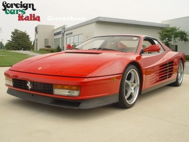 ferrari testarossa for sale in charlotte north carolina classified. Black Bedroom Furniture Sets. Home Design Ideas