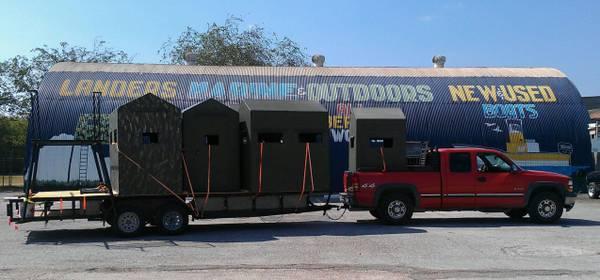 atascosa fiberglass prevnext hunting bushlan camo deer blind wildlife texas blinds supply
