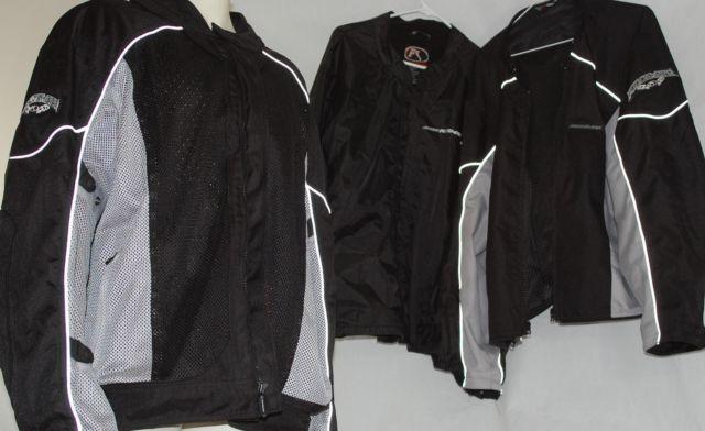 FieldSheer Moto Morph Textile High Flow Mesh  Padded Jacket, Mens 3