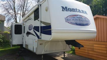 fifth whell 2008 keystone montana mountaineer 36 ft