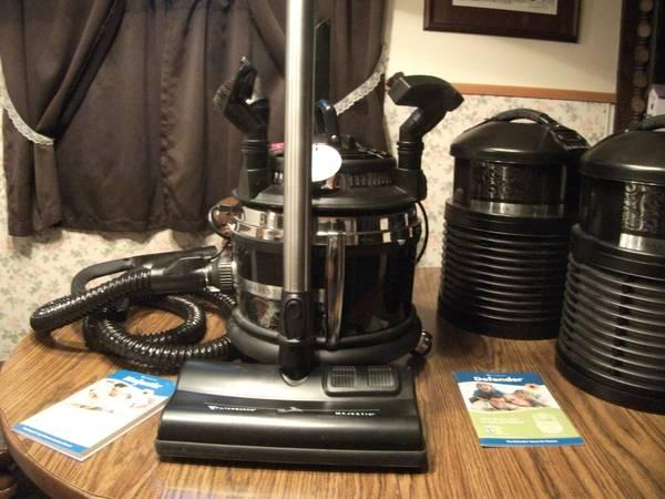 Filter Queen Majestic Vacuum Defender Air Purifiers