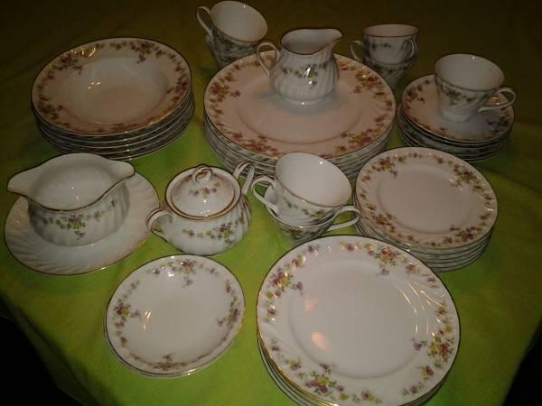 Fine China Dishes - $30