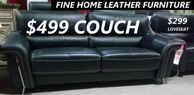Fine Home Leather Furniture Sale For Sale In Portland