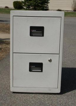 Fire Safe File 2 Drawer Letter Size