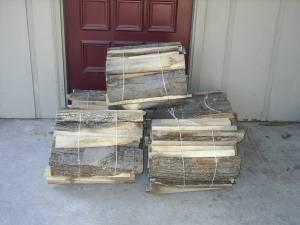 Firewood Perfect for Fireplace/Campfire Wood - mostly