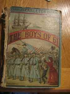 FIRST EDITION 1881 civil war book THE BOYS OF 61 - $20