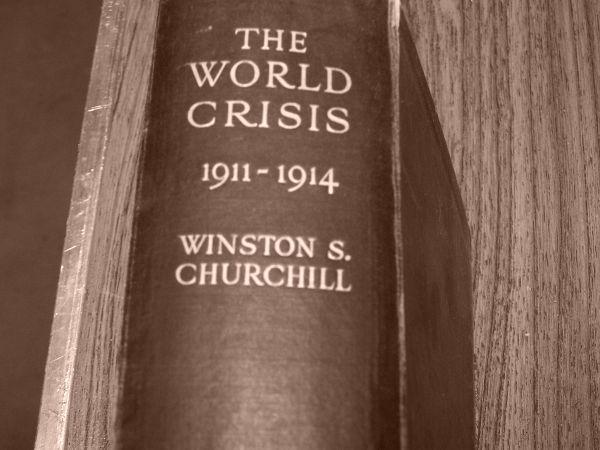 first edition world crisis 1911-1914 winston s.