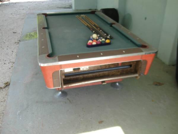 Fischer Pool Table For Sale In Key Largo Florida Classified - Pool table key