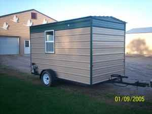 Fish house 7x12 perham for sale in fargo north dakota for Fish house frames for sale