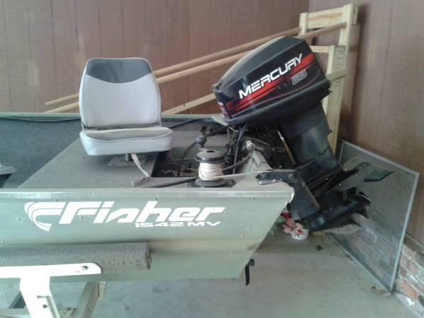 Fisher 1542 fishing boat