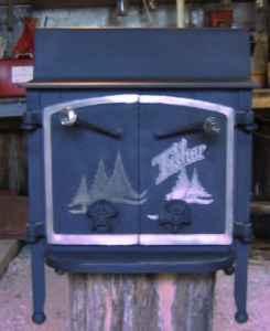 Fisher Grandma Bear Wood Stove   $750 (Madison,