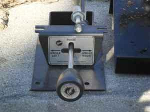 Fisher Plow Old Style Valve Controls Uxbridge Ma For