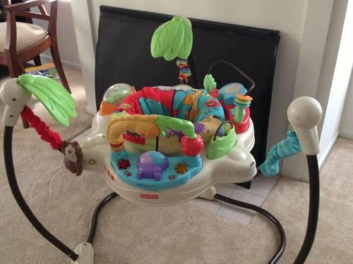 c1452e541104 Fisher Price Baby Jumper activity swing for Sale in Irvine ...