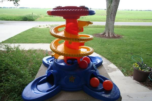 Fisher Price Baby Playzone Pull Up Ball Blast For Sale