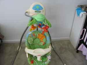 Fisher Price Cradle Rainforest Swing Graco High Chair