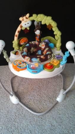 82dedce838d Fisher Price Go Wild Jumperoo - for Sale in Lafayette, Indiana ...