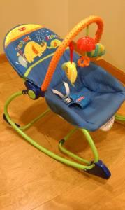 Fisher-Price Infant to Toddler Rocker in Blue - $10 West Topeka, KS