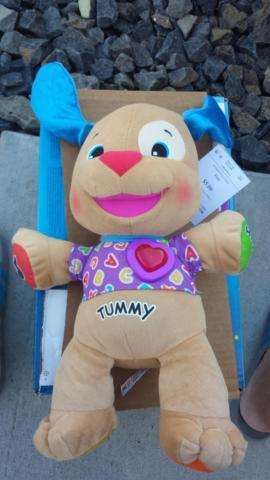 Fisher Price Laugh Learn Love To Play Puppy Used Great Shape For