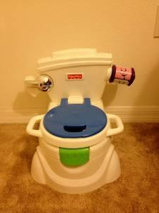Fisher Price Laugh Amp Learn Potty Toilet Training Talking