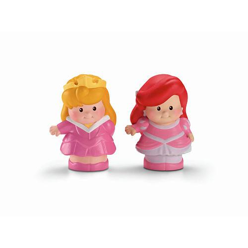 Fisher-Price Little People Disney Princess Figures 2-Pack - Ariel and Aurora