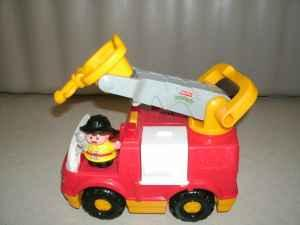 Fisher-Price Little People Fire Engine - $15 NW Omaha