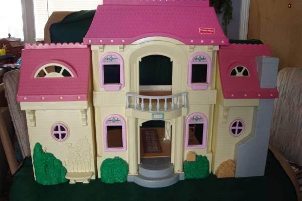 Fisher Price Loving Family Doll House 3 Story For Sale