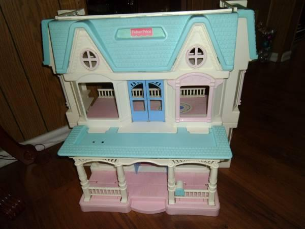 Fisher Price Loving Family Dream Doll House For Sale In