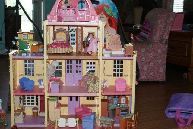 Fisher Price Loving Family Twin Time Doll House For Sale